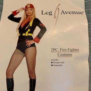 Fire fighter Costume with Hat